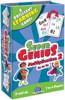 Blue Orange Games Super Genius Multiplication 2 Card Game