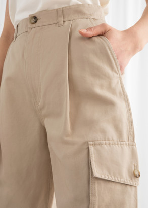 And other stories Cotton Twill Cargo Pants