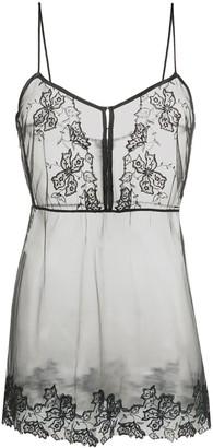 La Perla Floral Groove camisole dress