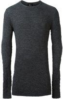 Lost & Found Ria Dunn - thermal sweater - men - Cotton/Nylon/Wool - S