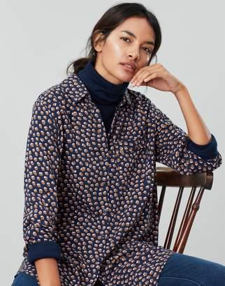 Joules Erika Long Sleeve Button Through Blouse