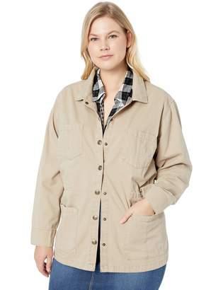 Vintage America Blues Women's Plus Size Getty Denim Jacket