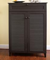 Baxton Studio Espresso Tall Cabinet