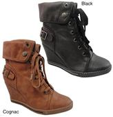 Bucco Womens 'Agneta' Wedge Booties