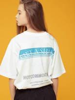 [Unisex] Shark Print Tee Wh