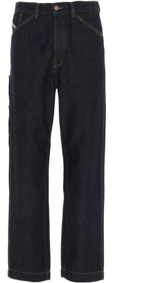 Diesel D-Franky Relaxed Jeans
