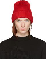 Hyke Red Wool Beanie