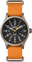 Timex Men's Expedition Scout Orange Nylon Strap Watch 50mm TW4B04600JT