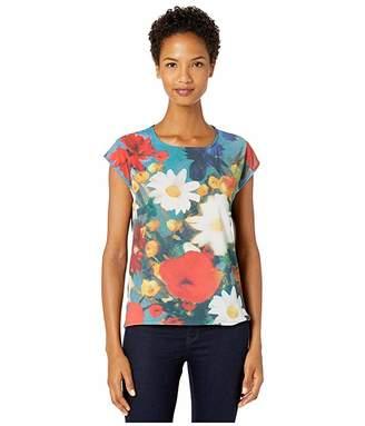 Paul Smith Mixed Media Flower T-Shirt