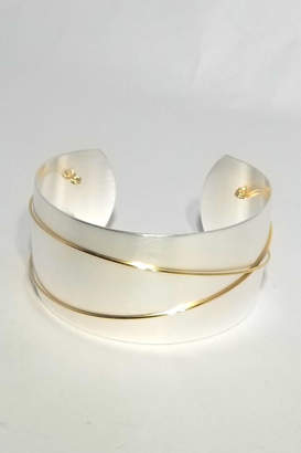 Sue Rosengard Jewelry Design, Ltd.V Wide Silver Cuff