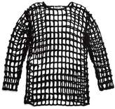 McQ knitted grid top