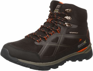 Regatta Men's Kota Mid II' Lightweight Waterproof Breathable EVA Footbed Rubber Outsole Hiking Boots Walking Shoe