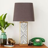 west elm Chevron Deco Table Lamp - Large