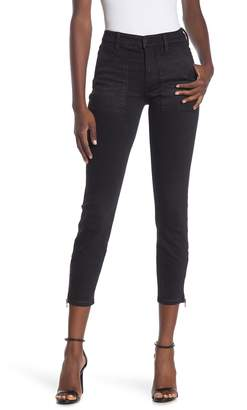 Liverpool Jeans Co Cargo Zip Ankle Skinny Jeans