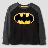 Batman Toddler Boys' Long Sleeve T-Shirt - Black 4T