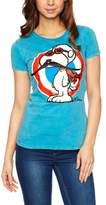 Logoshirt V Peanuts - Snoopy Pilot Logo Women's T-Shirt