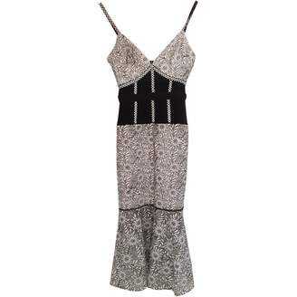 Style Stalker Multicolour Cotton Dress for Women
