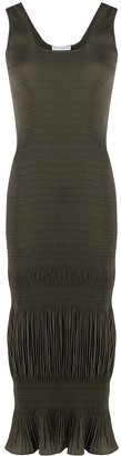 J.W.Anderson Ruched Sleeveless Dress