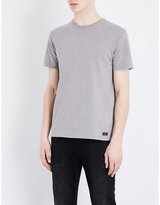 7 For All Mankind Slub Cotton-jersey T-shirt
