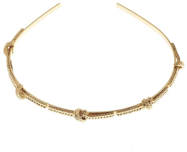 Oscar de la Renta Braided Headband