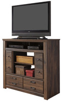 Loon Peak Flattop 4 Drawer Media Chest