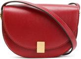Victoria Beckham contrast shoulder bag - women - Calf Leather/Calf Suede - One Size