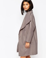 ASOS COLLECTION ASOS Oversized Funnel Neck Coat