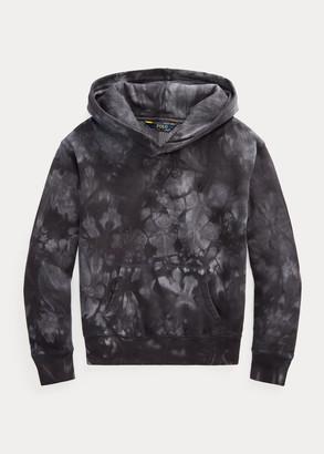 Ralph Lauren Tie-Dye Cotton-Blend-Fleece Hoodie