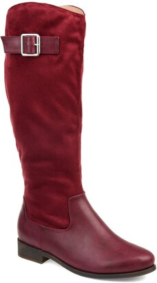 Journee Collection Frenchy Extra Wide Calf Boot