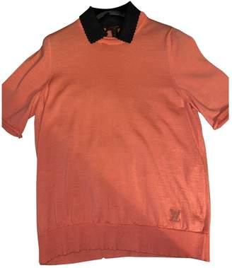 Louis Vuitton Orange Wool Tops