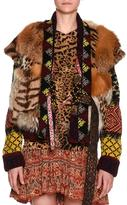 Etro Mixed-Fur Vest