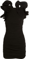 Isabel Marant Geeny ruffled cotton-gauze mini dress