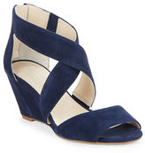 Kenneth Cole New York Drina Suede Wedge Sandals