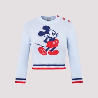 Miu Miu Mickey Mouse Knit Jumper