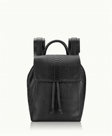 GiGi New York Phoebe Backpack Embossed Python