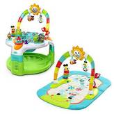 Bright Starts; 2-in-1 Laugh & Lights Activity Gym & Saucer;