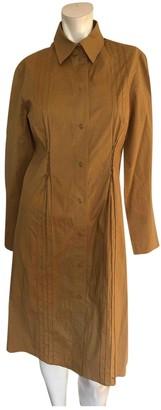 Philosophy di Alberta Ferretti Brown Cotton Dresses