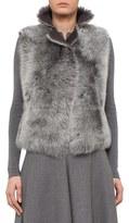 Akris Punto Women's Reversible Genuine Toscana Shearling Vest