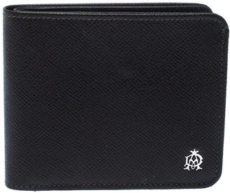 Dunhill Dark Grey Leather Bourdon Bifold Wallet