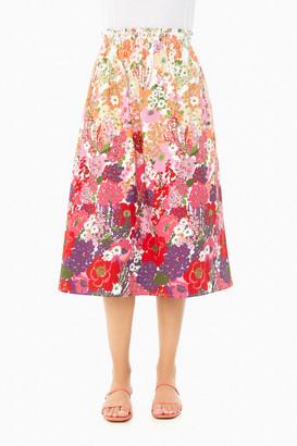 Cece Floral Skirt