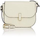 Valextra Women's Iside Saddle Bag-WHITE