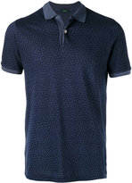 Zanone floral polo shirt - men - Cotton - S