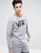 Vans Classic Crew Sweatshirt In Grey V00yx0kyf
