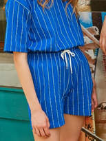[UNISEX] Dizzee Striped Short Pants (Blue)