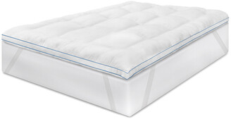 Soft-Tex Memoryloft Deluxe Memory Foam And Fiber Mattress Topper