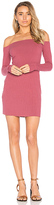 Michael Lauren Karl Off Shoulder Dress in Rose. - size L (also in M)