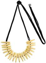 Maria Calderara super long necklace