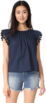 The Great The Tassel Flutter Top