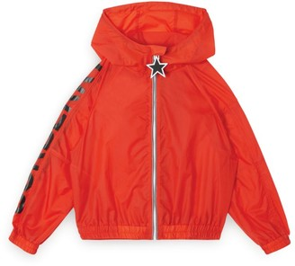 Burberry Kids Hooded Logo Rain Jacket (3-12 Years)