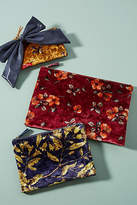 Remi/Reid Velvet Floral Pouch Set